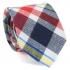 Купить узкий мужской стильный клетчатый галстук. thumb