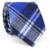 Купить узкий мужской стильный клетчатый галстук thumb