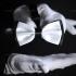 Купить белую галстук бабочку thumb