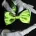 Купить однотонную зеленую бабочку thumb
