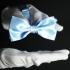 Бабочка на шею голубая thumb
