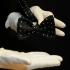 Мужская бабочка самовяз черный в горошек thumb