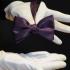 Мужская бабочка фиолетовая самовяз thumb