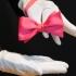 Мужская бабочка розовая самовяз thumb