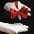 Мужская бабочка самовяз бордового цвета thumb