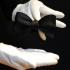 Черная галстук-бабочка самовяз thumb