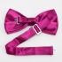 Купить сиреневую галстук бабочку на застежке thumb