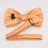 Бабочка для мужчин оранжевого цвета thumb