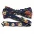 Дизайнерская галстук-бабочка с цветами thumb