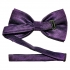 Купить темно-фиолетовую мужскую бабочку thumb