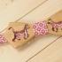 Дизайнерская деревянная бабочка с кошкой thumb