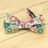 Недорогая цветочная галстук-бабочка на застежке thumb