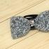 Недорогая модная галстук-бабочка из плотной хлопковой ткани с узором в виде страз thumb