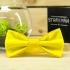 Купить галстук-бабочку желтого цвета thumb