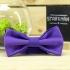 Купить галстук-бабочку фиолетового цвета thumb