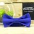 Купить галстук-бабочку синего цвета thumb