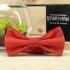 Купить галстук-бабочку красного цвета thumb