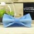 Купить галстук-бабочку голубого цвета thumb