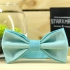 Купить галстук-бабочку бирюзового цвета thumb