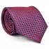 Фиолетовый галстук с узором thumb
