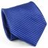 Галстук синего цвета в полоску thumb