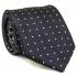 Темно-синий галстук в точку thumb