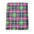 Платок для пиджака в розово-зеленую клетку thumb