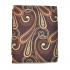 Купить узорчатый коричневый платок thumb