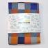 Купить цветной нагрудный платок в клетку thumb
