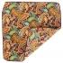 Нагрудный платок оранжевый огуречный thumb