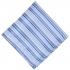 Нагрудный платок голубого цвета в полоску thumb