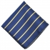 Нагрудный платочек синего цвета в полоску thumb