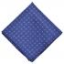Нагрудный платок синего цвета с узором thumb