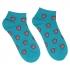 Купить цветные носки летние бирюзовые thumb