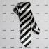 Узкий полосатый галстук thumb