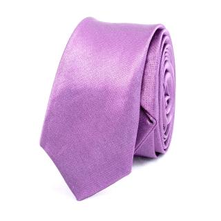 Супер узкий галстук #012 (сиреневый)
