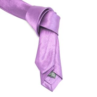 Купить галстук супер узкий сиреневый