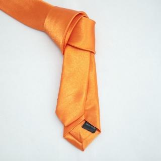 Недорогой оранжевый галстук
