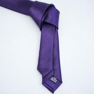 Модный фиолетовый галстук