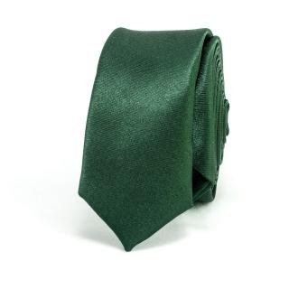 Супер узкий галстук #024 (зеленый)