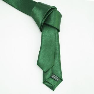 Недорогой зеленый галстук