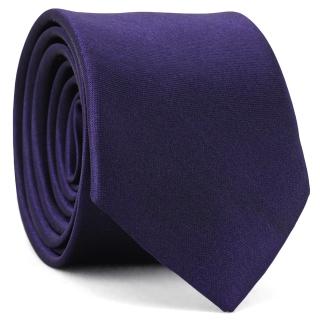 Узкий галстук #005 (фиолетовый)