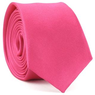 Узкий галстук #164 (розовый)