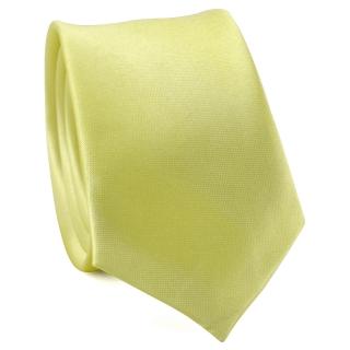 Узкий галстук #165 (лимонный)