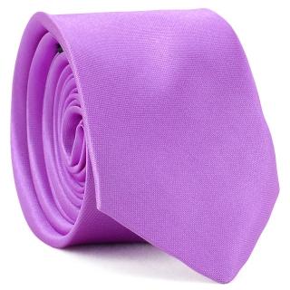 Узкий галстук #166 (лиловый)
