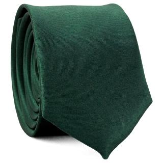 Узкий галстук #169 (изумрудный)