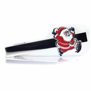Зажим для галстука #002 (санта)