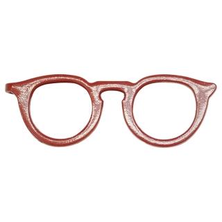 Зажим для галстука #009 (красные очки)