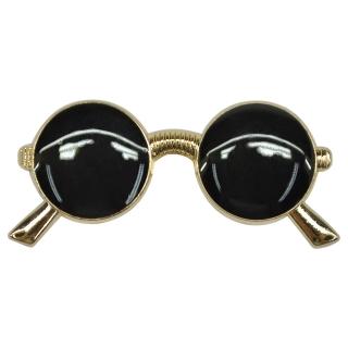 Зажим для галстука #012 (круглые очки)