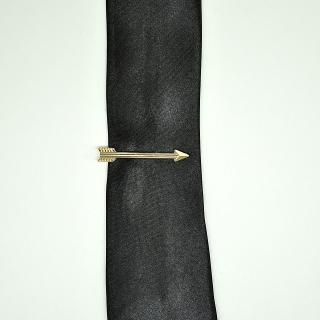 Зажим на галстук стрела